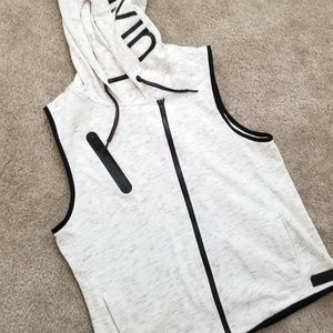 Calvin Klein performance dry hooded vest